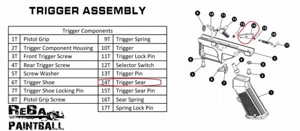 RAP4 - Trigger Sear | 468-14T